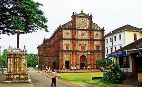 """Old Goa churches was captured by the Portuguese & was the administrative of seat of Portuguese India. It was known as """"Rome of the East"""". Old Goa churches, Old Goa, Basilica of Bom Jesus, Sé Cathedral de Santa Catarina, Church of St Francis of Assisi, St. Augustine's Tower"""